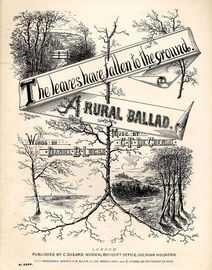 The Leaves have fallen to the Ground - A Rural Ballad - Musical Bouquet No. 6944