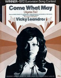 Come what may (Apres Toi) - Featuring Vicky Leandros, 1972 Eurovision song contest winner