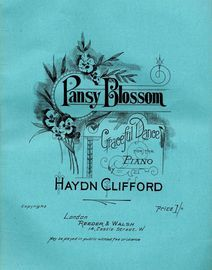 Pansy Blossom - Graceful Dance for the Piano