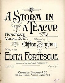 A Storm in a Teacup - Humorous Vocal Duet