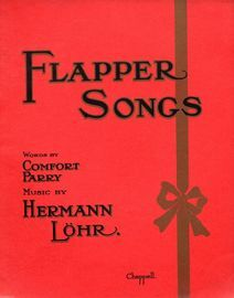 Flapper Songs - As sung by Miss Margaret Cooper