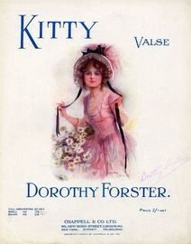 Kitty - Valse - For Piano Solo - Dedicated to Kitty Henry