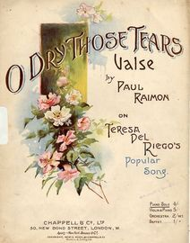 O Dry Those Tears - Valse