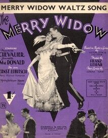 The Merry Widow - Musical Romance Waltz Song - Featuring Maurice Chevalier and Jeanette MacDonald
