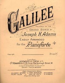 Gaililee - Founded on the Grand Song - For Pianoforte