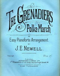The Grenadiers - Polka - March - Easy Pianoforte Arrangement