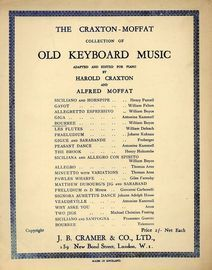 Bourree - The Craxton-Moffat collection of Old Keyboard Music adapted and edited for Piano