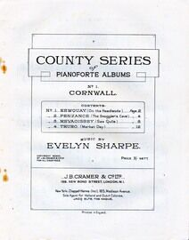 Cornwall - Country Series of Pianoforte Albums No. 1