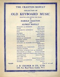 Gigue and Sarabande - The Craxton-Moffat collection of Old Keyboard Music adapted and edited for Piano