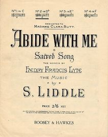 Abide with Me - Key of D Flat major