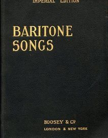 Baritone Songs - Imperial Edition - 193 pages - 51 songs