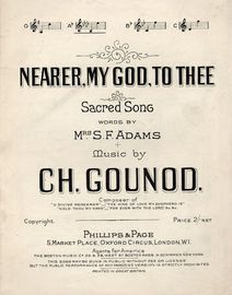 Nearer My God To Thee - Sacred Song - In the key of A flat major