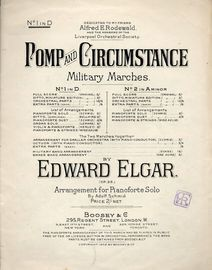 Pomp and Circumstance No. 1 in D - Op. 39