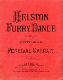Helston Furry Dance - Paraphrased for Piano