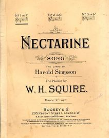 Nectarine - Song - No. 1 in key of F major