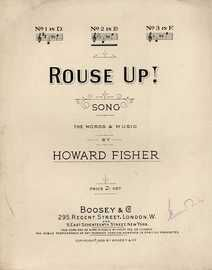Rouse Up! - Song in the key of E flat major for Medium Voice
