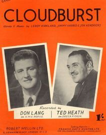 Cloudburst - Don Lang, Ted Heath