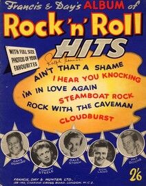 Francis and Day's Album of Rock and Roll Hits - includes full size photos of your favourites stars including, Fats Domino, Tommy Steele, Gale Storm, D