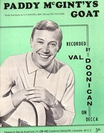 Paddy McGinty's Goat - As performed by Val Doonican