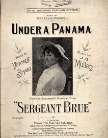 Under a Panama - Song featuring Miss Olive Morrell in \