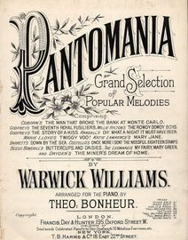 Pantomania - from Grand Selection of Popular Melodies, as played by the band of the Royal Marines Light Infantry under the direction of Mr George Mill