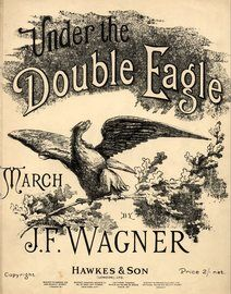 Under the Double Eagle - March - Piano solo - Op. 159