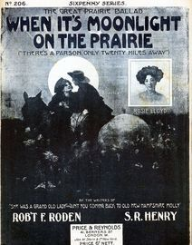 When Its Moonlight On The Prairie (Theres A Parson Only Twenty Miles Away) - Rosie LLoyd