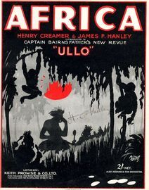 Africa - Introduced in Captain Bairnsfather's New Revue