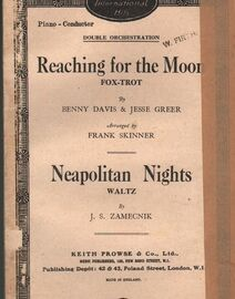 DANCE BAND - (a) 'Reaching for the Moon' - Fox-Trot - (b) Neapolitan Nights - Waltz