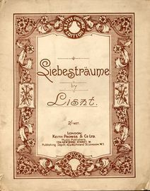 Liebestraume - For Piano