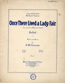 Once There Lived a Lady Fair - As performed by Richard Tauber in
