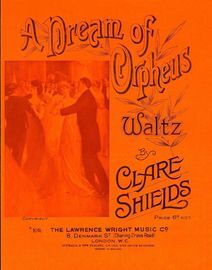 A Dream of Orpheus - Waltz for Piano Solo - Lawrence Wright Edition No. 109