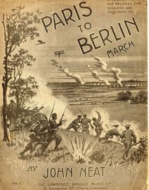 Paris to Berlin : March, piano solo
