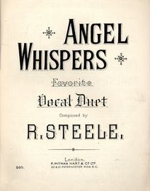 Angel Whispers - Favourite Vocal Duet - F. Pitman & Co. Edition No. 880