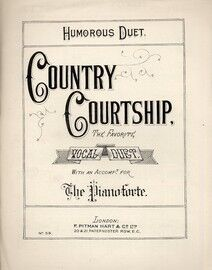 Country Courtship - Humorous Duet - 6 Verses