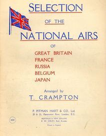 Selection of the National Airs of Great Britain, France, Russia, Belgium and Japan