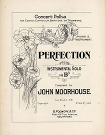 Perfection concert Polka - Instrumental Solo in B flat with Piano Accompaniment