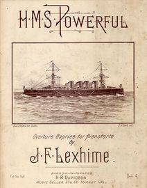 H. M. S. Powerful - Overture Caprice for Pianoforte