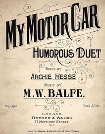 My Motor Car - Humorous Vocal Duet