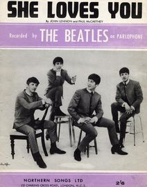She Love You - Recorded by The Beatles on Parlophone
