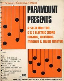 A Selection for G & C Electric Chord Organs, Including Magnus & Music Master - A Famous Chappell Album