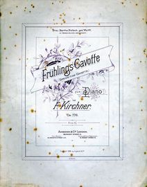 Fruhlings Gavotte (Spring Tide Gavotte) for Piano - Op. 776