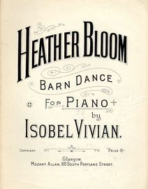 Heather Bloom Barn Dance for Piano