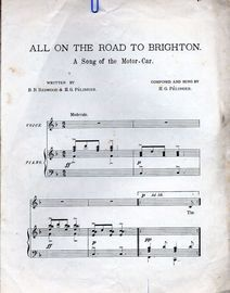 All on the Road to Brighton - A song of the Motor Car