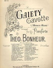 Gaiety Gavotte - For Pianoforte - Series No. 23