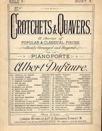 Heimliche Liebe (True Love) Gavotte - For Piano Solo - No. 17 from Crotchets and Quavers series of popular and classical pieces for the Pianoforte