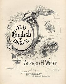 Old English Dance - For the Pianoforte