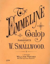 The Emmeline Galop - For the Pianoforte - Reeves Edition No. 374