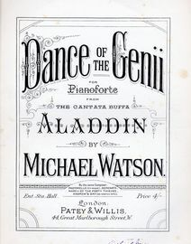 Dance of the Genii from Aladdin