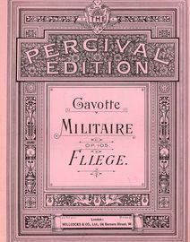 Gavotte Militaire - Op. 105 - Percival Edition for Piano